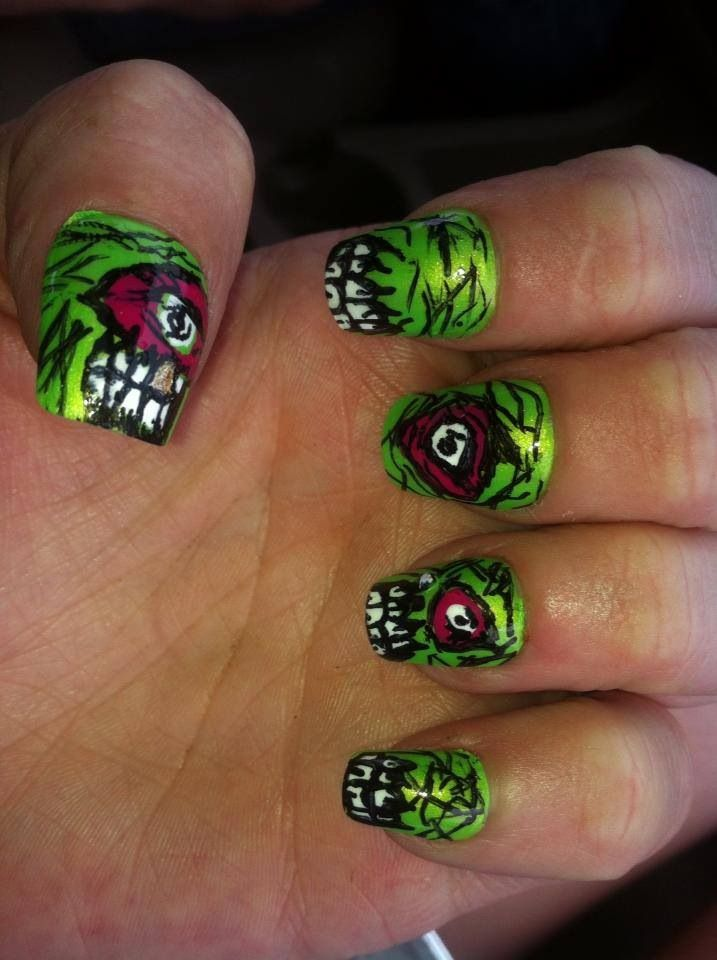 Another zombie set! Gold teeth! By me