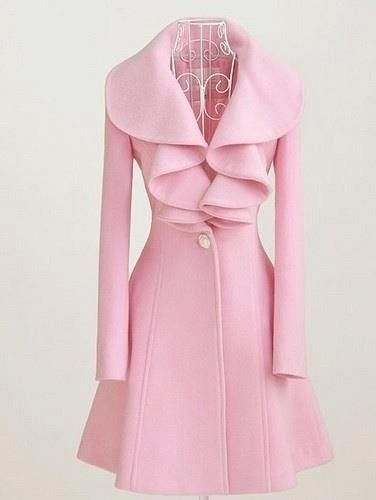 Quite Pinkalicious and fabulous. I absolutely love this coat.