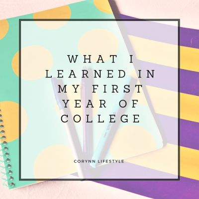 Things I learn in my first year of college! Study hacks, making new friends and trying to be yourself! #newblogger #blogger #college #advice