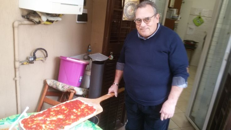 Osvy ready to bake a Marinara pizza in the #Ziociro #SubitoCotto http://www.alfornodiosvy.com/forum/viewtopic.php?f=9&t=2586
