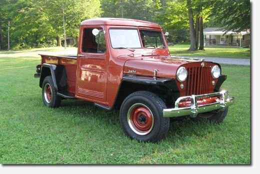 Gary Collins' 1949 Willys 2X4 Truck