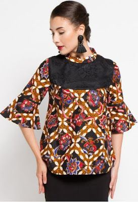 31 best Model Baju Batik Terbaru images on Pinterest  Blazers