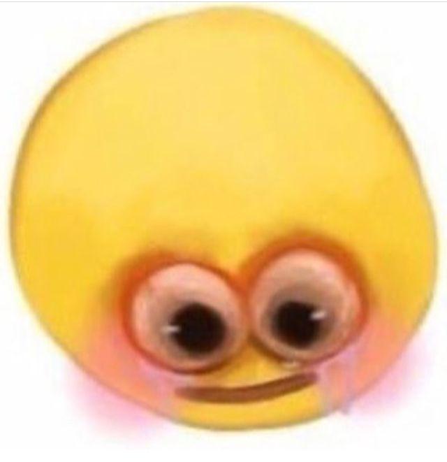 Cursed Emoji Blushing Cute Love Memes Emoji Meme Cute Memes