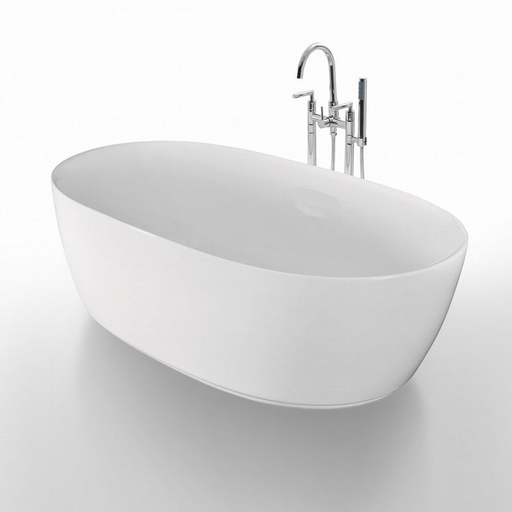 Badkar Bathlife Ideal Oval - Standardbadkar - Badkar - Bygghemma.se