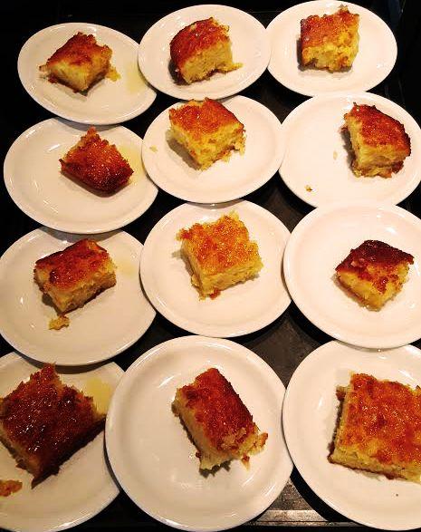 Wine and dessert pairings! Armyra Chardonnay Skouras & handmade orange pie, perfect match! #Skouras #Greekwines