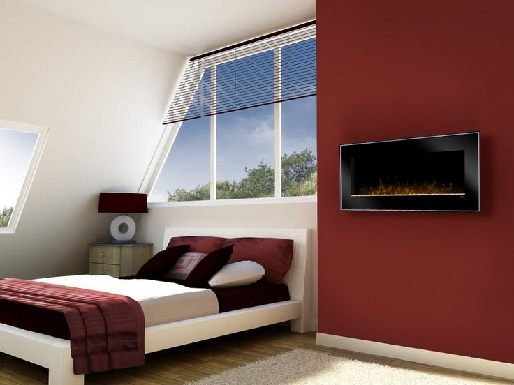 about bedroom electric fireplaces on pinterest wall mount electric