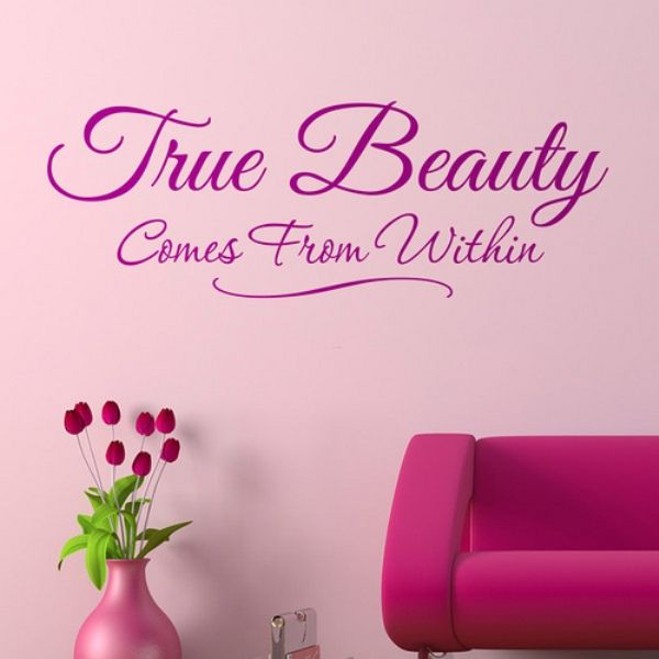 True beauty comes from within #beauty #quotes