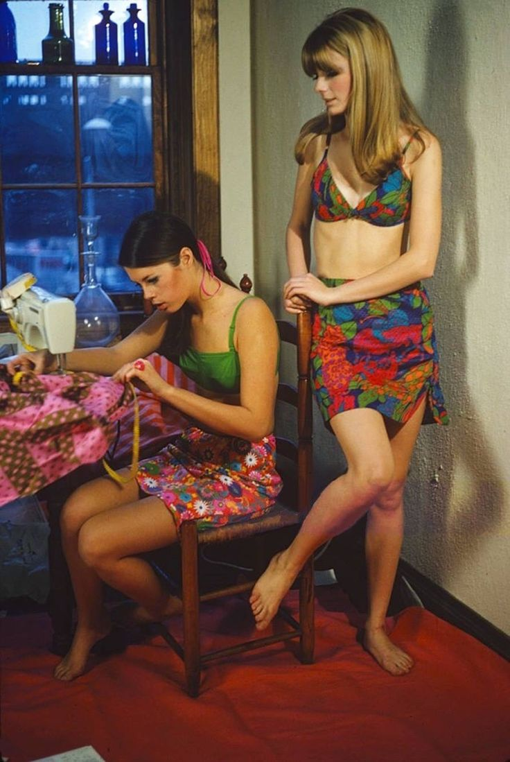 Fashion shoot for Glamour Magazine in 1966 by Susan Wood.