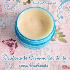 Deodorante cremino fai da te senza bicarbonato. Ricette Cosmetici fatti in casa.