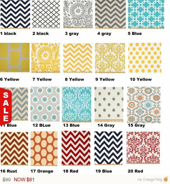 Labor Day Sale Back to School SALE Curtain 32 color choices, kitchen curtains, Nursery Decor, Bedroom Curtains, Window Treatment, Custom Mad