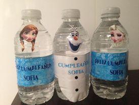 Botellas de agua personalizadas,pudes usar todos los personajes, y hasta hacer las formas de su ropa