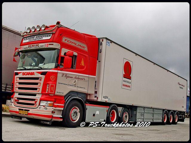 SCANIA R500 V8 Topline - P Bjarne Andersen PBA 804 - DK | Flickr - Photo Sharing!