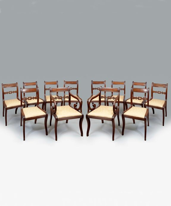 17 best 18th and 19th Century Dining Chairs images on Pinterest ...