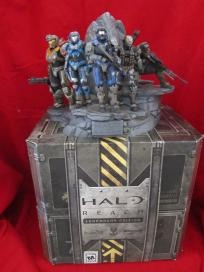Halo Reach Legendary Edition Xbox 360 Noble Team Statue & Security Container FREE SHIPPING!