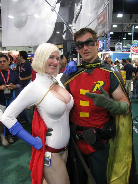 Angie griffin cosplays power girl 8