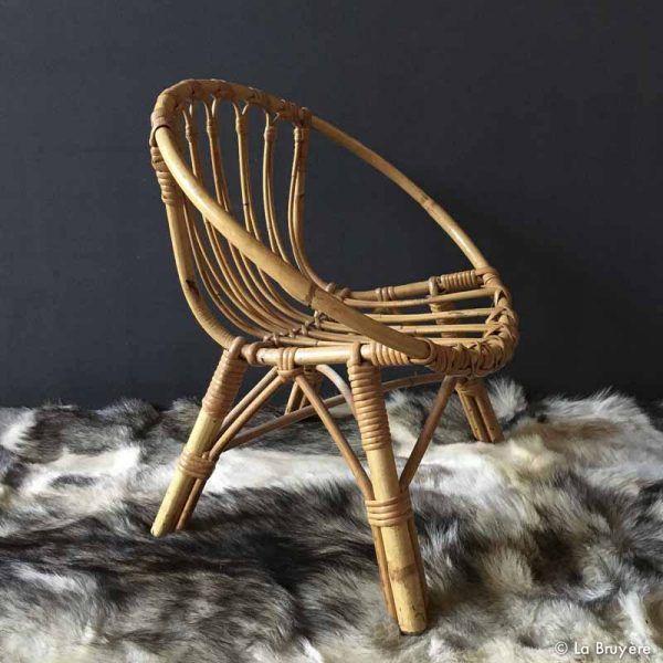 fauteuil rotin enfant brocante de la bruy re pinterest fauteuil enfant rotin et fauteuil. Black Bedroom Furniture Sets. Home Design Ideas
