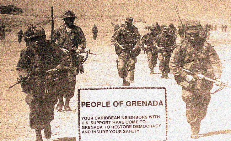 We're From The Government, We're Here To Help . . . .- Invasion Of Grenada - October 25, 1983 | Past Daily