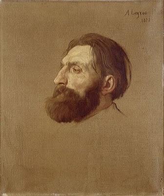 Legros portrait - Rodin