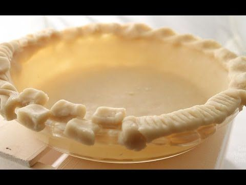 Creative pie crust borders aren't as hard as you may think. Test Kitchen director Noelle Carter shows you how.