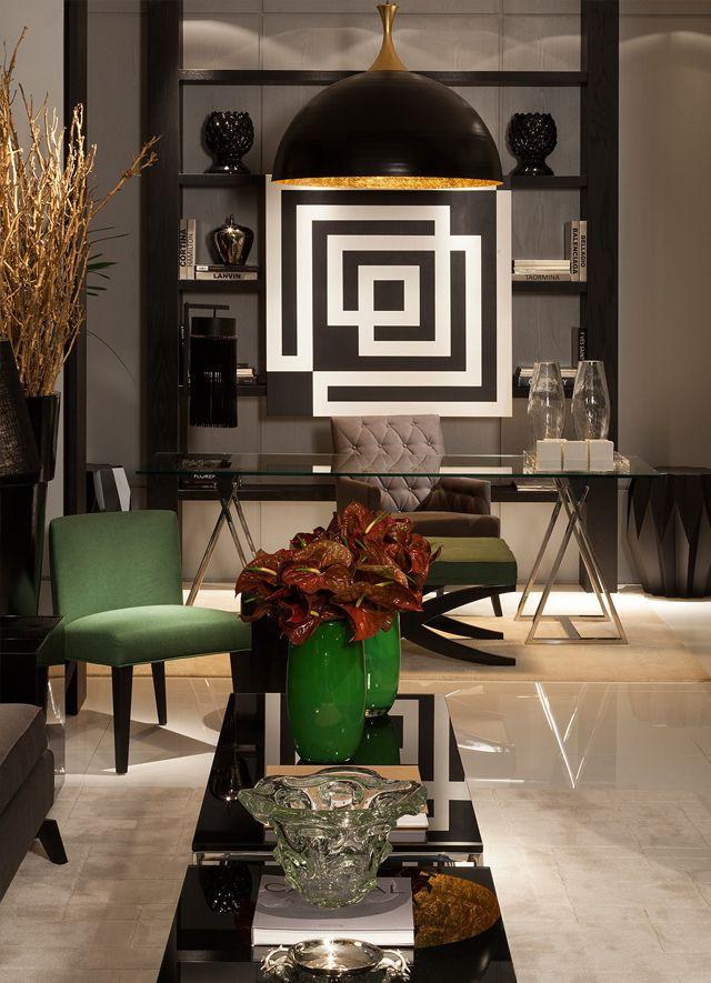 Estantes com....quadros pendurados! Confira lindos ambientes com essa tendência!