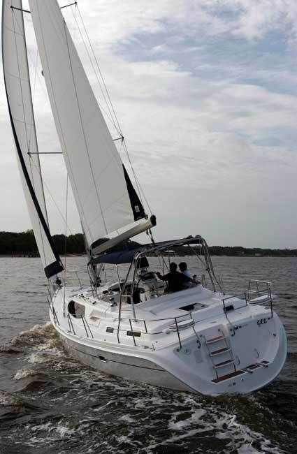 New 2013 Hunter Marine 45 Center Cockpit Cruising Sailboat Photos- iboats.com 1