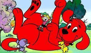 Clifford, de grote rode hond