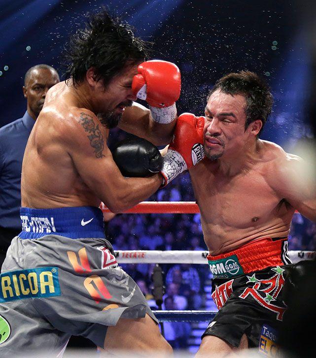 Juan Manuel Marquez and Manny Pacquiao(no están con everlast...pero son son dos grandes boxeadores)