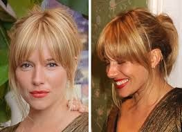 sienna miller hair bangs - Google Search