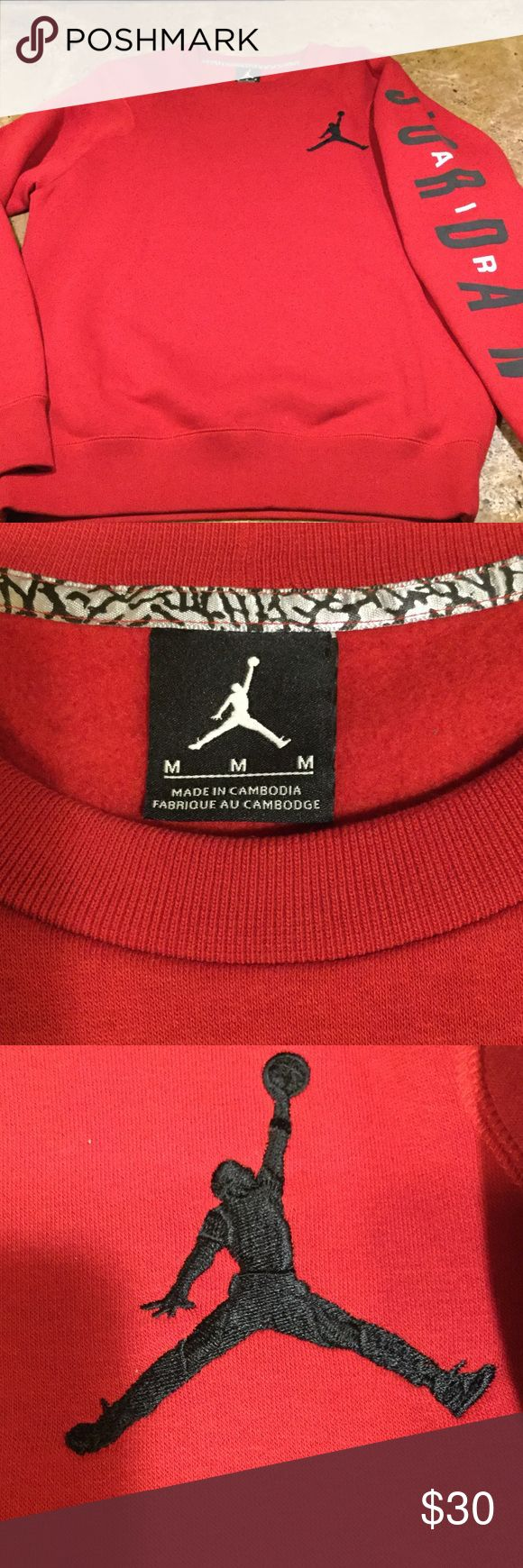 Jordan sweatshirts, excellent condition. Worn 1X Nike Jordan sweatshirt Jordan Shirts Sweatshirts & Hoodies