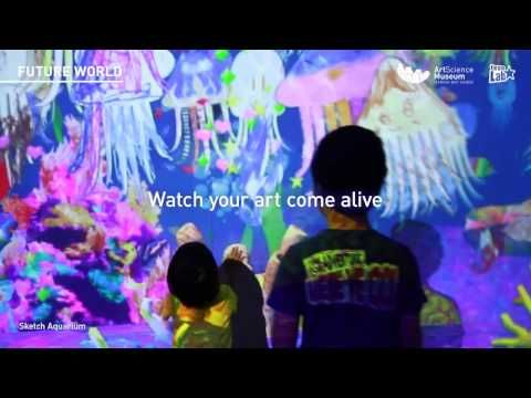 Art Science Museum & teamLab Present   FUTURE WORLD WHERE ART MEETS SCIENCE   From March 12, 2016
