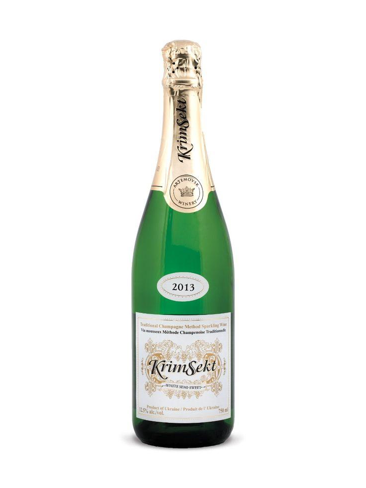 KrimSekt Semi-Sweet White Sparkling Wine