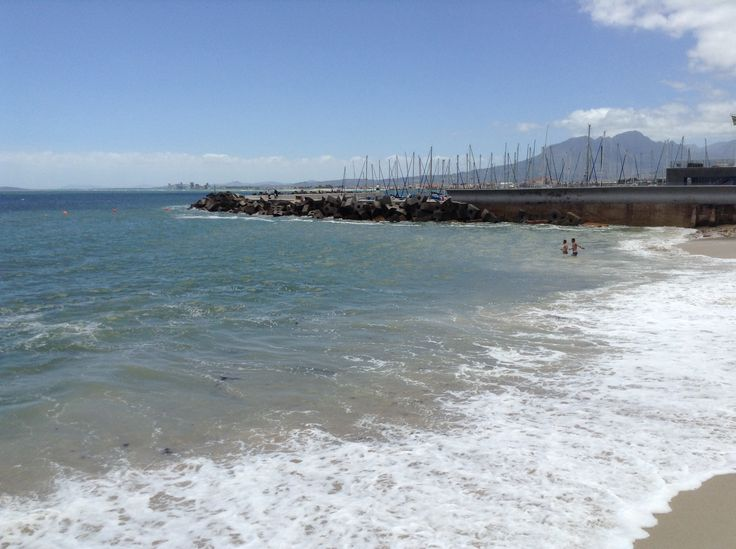 Bikini Beach next to Gordons Bay