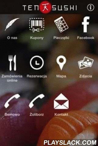 TenSushi  Android App - playslack.com ,  Z Miłości do SushiNiepowtarzalna atmosfera i wyśmienite jedzenie! To wszystko znajdziesz w Restauracji TenSushi. Nasi doświadczeni kucharze zabiorą Cie w kulinarną podróż, po świecie specjałów z Kraju Kwitnącej Wiśni. With Love for SushiThe unique atmosphere and delicious food! That's all you can find in the restaurant TenSushi. Our experienced chefs will take you in a culinary journey around the world delicacies from the Land of the Rising Sun.