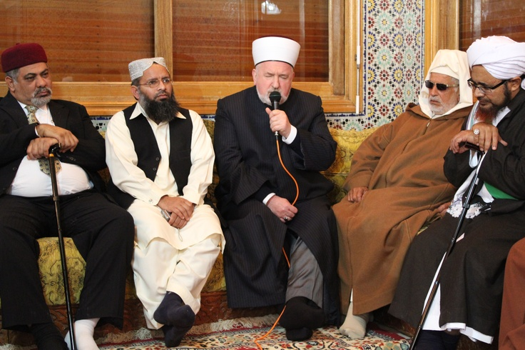 Mufti Mustafa Ceric with others