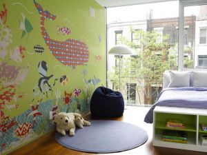 cool Murals Wall For Kids Rooms Ideas