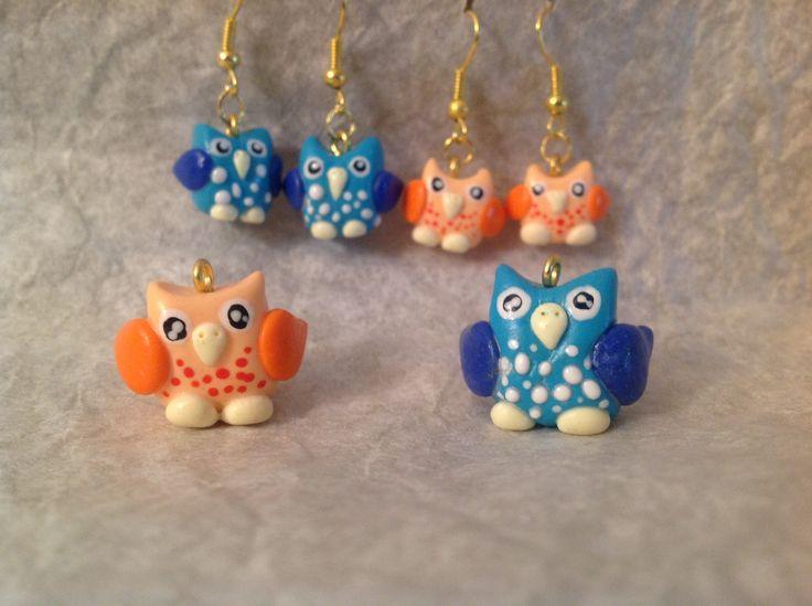 Fimo owls