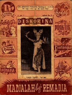 Collection of Indonesian old magazine cover