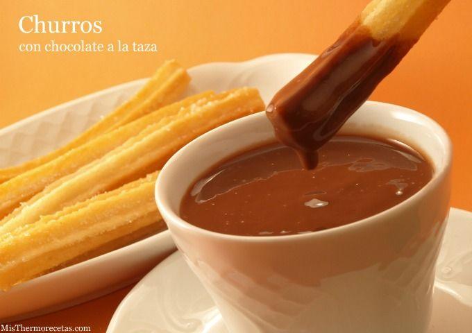 Churros - MisThermorecetas.com