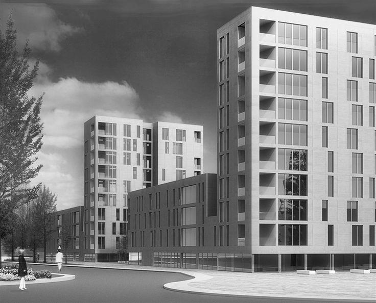 OPERASTUDIO - Competition - Social housing - #AAA architetti cercasi #Milan #view