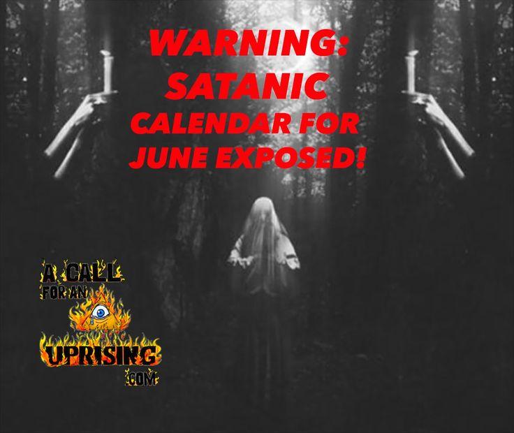 WARNING: SATANIC CALENDAR FOR JUNE EXPOSED!