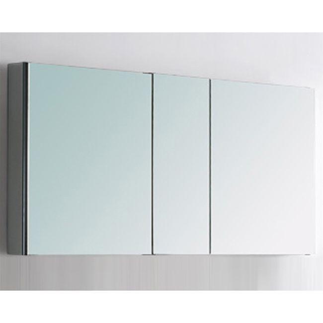 Fresca 50 Wide Bathroom Medicine Cabinet W Mirrors By Fresca