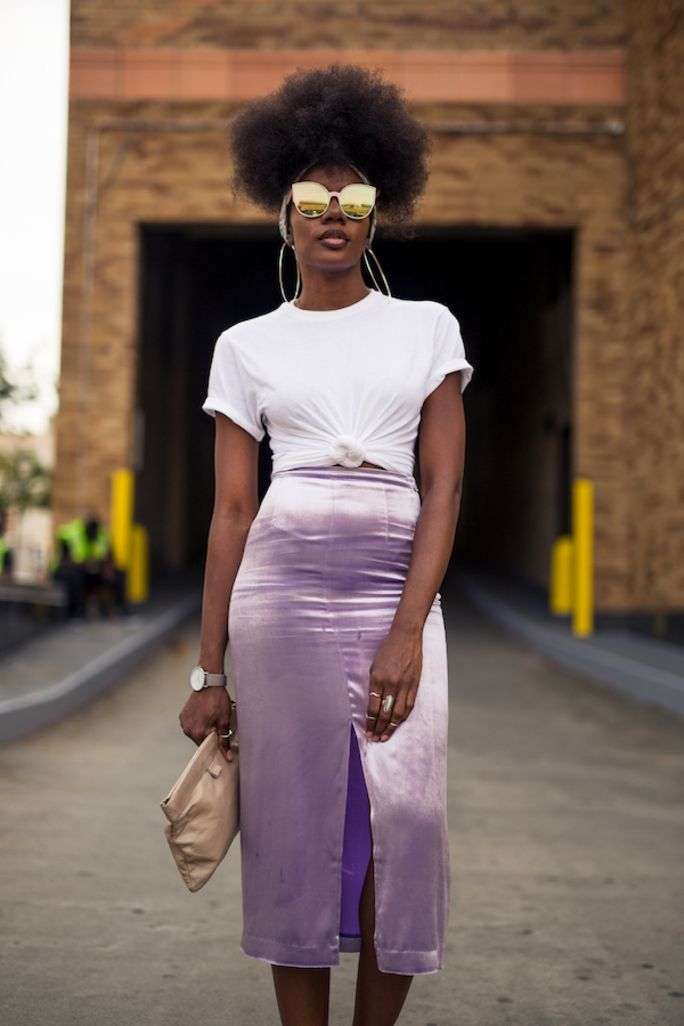 NYLON · NYFW Street Style Day 7 Was Presented In Technicolor
