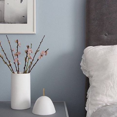 #ParmaGray can change hues depending on the light that hits your room