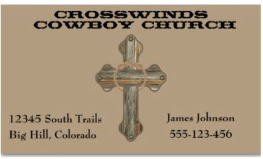 49 best western business cards images on pinterest business cards business cards with western barn wood cross personalize with your information colourmoves