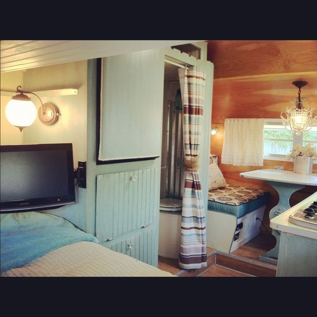 Inside Travel Trailers: 17 Best Images About Projects To Try On Pinterest