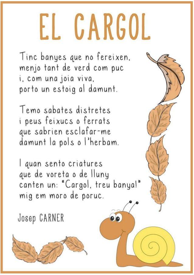 Poema elcargol by Lila  via slideshare
