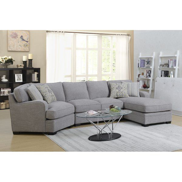 Labombard Sectional 3 Piece Sectional Sofa Sectional Sofa Grey