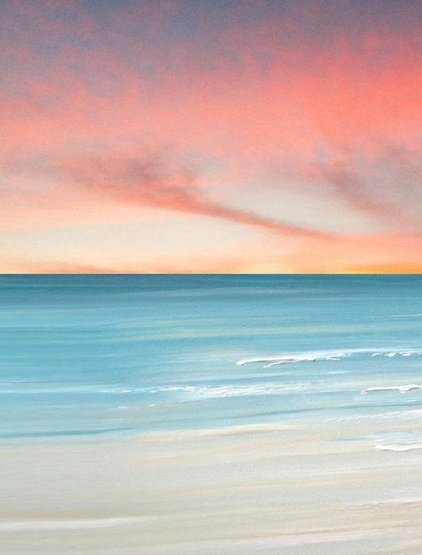 40 Simple And Easy Acrylic Landscape Painting Ideas Simple And Easy Acrylic Landscape Painting Landscape Paintings Acrylic Seascape Paintings Ocean Painting