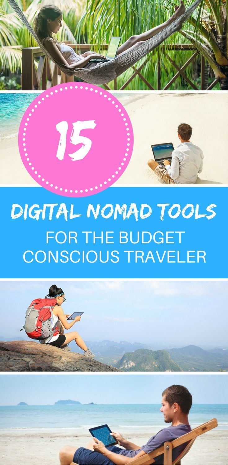 Do you work while travelling? Check out these 15 budget friendly digital nomad tools for saving time and money while increasing productivity.