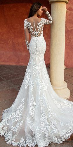 Lace Wedding Dresses That You Will Absolutely Love ❤︎ Wedding planning ideas & inspiration. Wedding dresses, decor, and lots more.